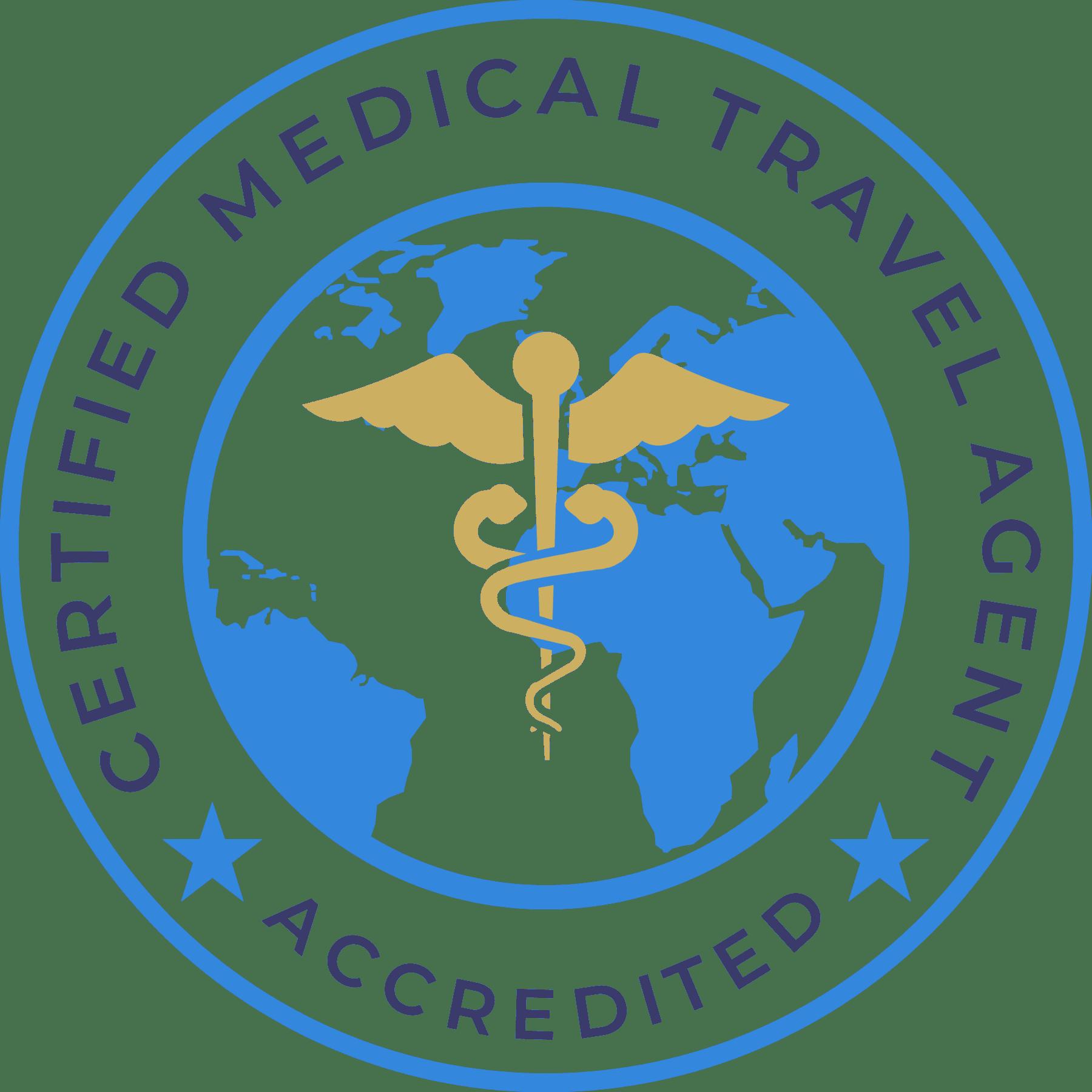 CERTIFIED MEDICAL TRAVEL AGENT LOGO (CMTA)